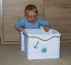 Košíky - Pre malého námorníka - 7226901_