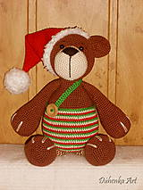 Hračky - Vianočný Maco - 7230354_