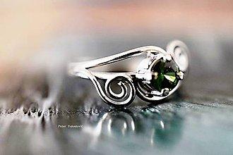 Prstene - zelené krásnoočko - 7229875_