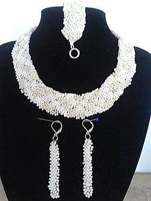Sady šperkov - maslový pletenec - 7231584_