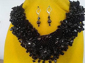 Sady šperkov - čierna noc - 7231631_