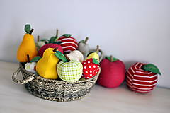 - Jesenné ovocie (Menšia hruška jednofarebná (dvojdielna)) - 7231805_