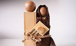 Dekorácie - Drevená dekorácia - Svätá rodina - 7230837_