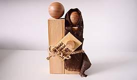 Dekorácie - Drevená dekorácia - Svätá rodina - 7230848_