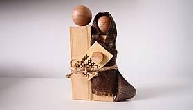 Dekorácie - Drevená dekorácia - Svätá rodina - 7230849_