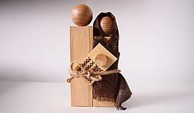 Dekorácie - Drevená dekorácia - Svätá rodina - 7230850_