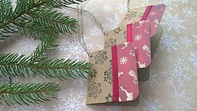 Papiernictvo - Vianočná pohľadnica - 7229073_