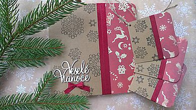 Papiernictvo - Vianočná pohľadnica - 7229072_
