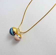 Náhrdelníky - Tana šperky - keramika/zlato - 7229290_