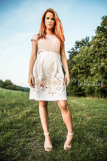 Sukne - Jupe Pleine de Fleurs - 7231699_