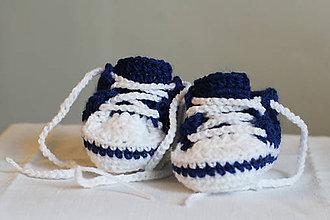 Topánočky - Námornícke tenisky - 7231283_