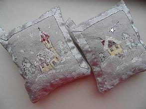 Dekorácie - vianočné vankúšiky - 7230952_