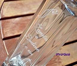 Iné - Carter - gravírovaná darčeková fľaša - 7229523_