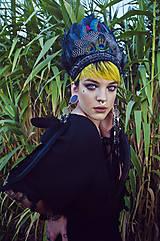 Čierná bohémska čelenka