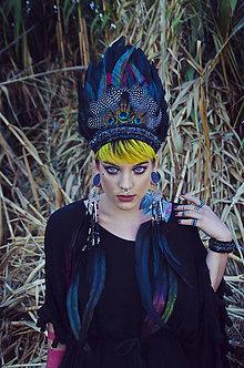 Sady šperkov - Čierný bohémsky set - 7228142_