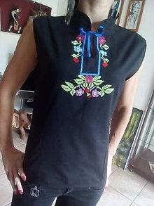 Košele - Vyšívaná košeľa - 7230462_