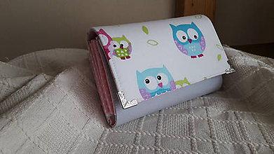 Peňaženky - Peňaženka sovičky - 7233542_