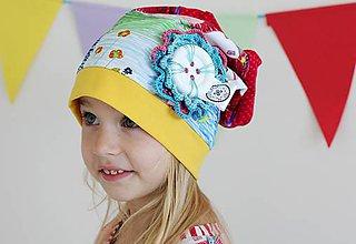 Detské čiapky - Čiapka domčeková - 7232699_