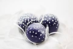 Dekorácie - Zasnežené vianočné gule - 7233804_
