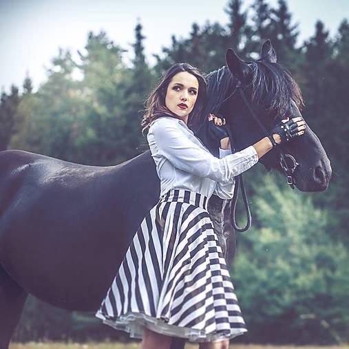 Sukne - Kolová sukně - 7237153_