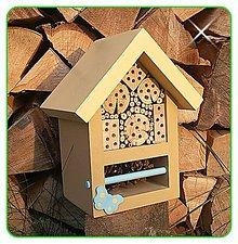 Pre zvieratká - Domček pre hmyz