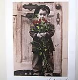 Papier - Reprodukcia R8- Nostalgia 30x24 cm - 7233358_
