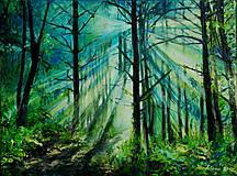 Obrazy - Azúrový les - 7236852_