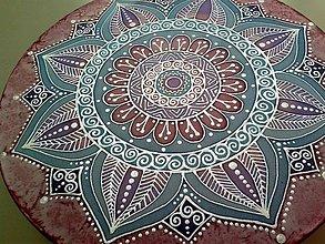 Dekorácie - Mandala ženskej energie, nežnosti a lasky - 7233869_