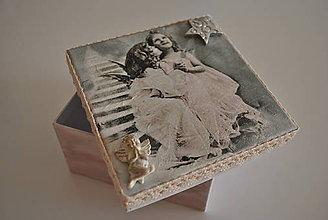 Krabičky - Anjeliček môj/SKLADOM - 7234002_