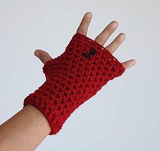 Rukavice - rukavičky Gombičky - 7233424_