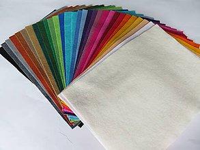 Textil - Sada filcu - mix farieb 30 ks - AF16 - 7233557_
