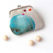 Peňaženky - Peňaženka mini Proti oblohe - 7233254_