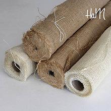 Textil - Jutovina 50cm x 5m - slonovina - 7235528_