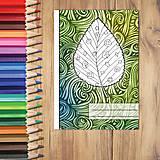 - Zápisníky Farebná jeseň ((vlny) - list 6) - 7233953_
