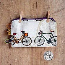Taštičky - Taštička na drobnosti - cyklo - 7238918_