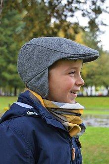 Detské čiapky - Bekovka ušianka - 7239723_