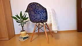 Nábytok - Stolička DAG Modrotlač - 7240252_