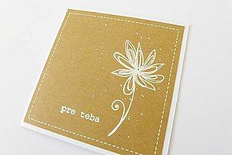 Papiernictvo - pohľadnica Pre teba - 7238054_