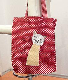 Nákupné tašky - Nákupná taška - Mačka n.7 - 7237743_