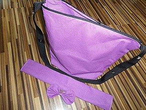 Iné tašky - Prebaľovacia taška ku kočíku na cvoky - 7238943_