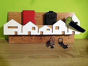 Nábytok - domčekový vešiak na kľúče 2 - 7238121_