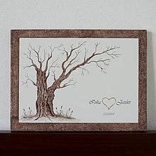 Obrazy - Svadobný strom - wedding tree - 7240150_