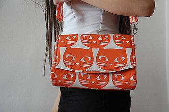 Kabelky - Glenda stredne veľká taška ľahučká-rôzne - 7240106_