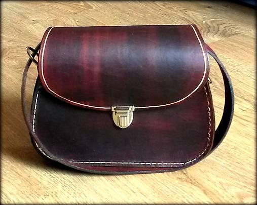 d4f1b19ba Ručne šitá kožená mini kabelka ,,Kiara