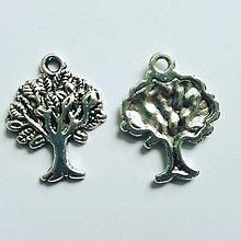 Komponenty - PRI6427, Prívesok strom života 22x17x2mm,dierka 2mm /1ks - 7239825_