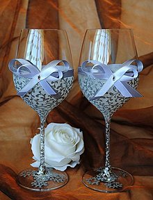Nádoby - Svadobné poháre - 7242339_