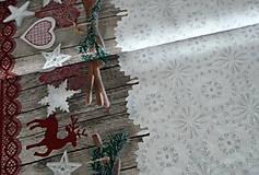 - Látka Vianočná čipka - 7243765_