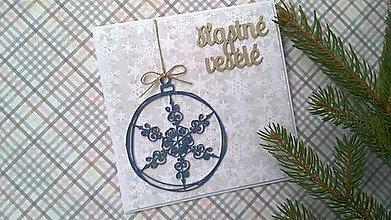 Papiernictvo - Vianočná pohľadnica fresh - 7242413_