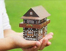 Hračky - Radenov dom z Čičmian(vypredané - znovu v predaji od januára) - 7242598_