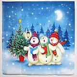 - Servítka-snehuliaci - 7241906_